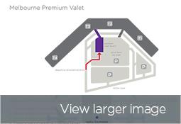 Melbourne Premium Valet Map