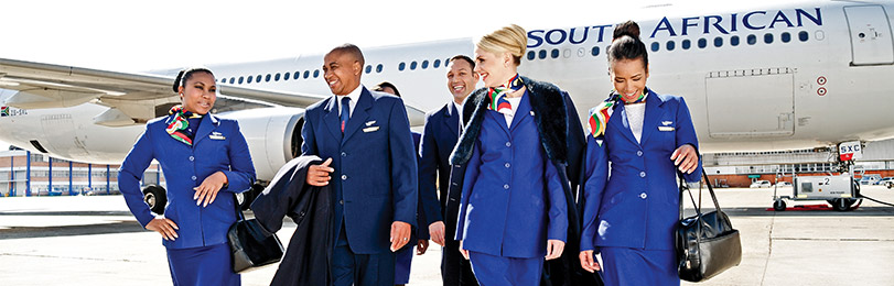 South African Airways crew