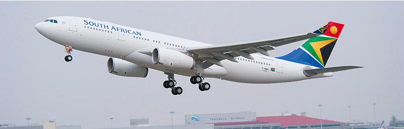 South African Airways plane