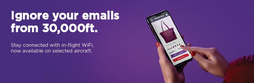 In-flight WiFi | Virgin Australia