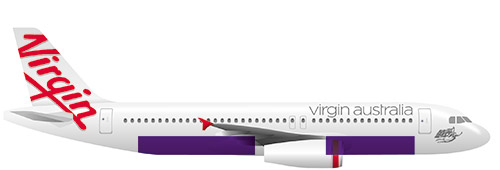 Airbus A320 profile view
