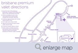 Brisbane Premium Valet Wayfinding map thumbnail