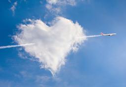 plane-heart