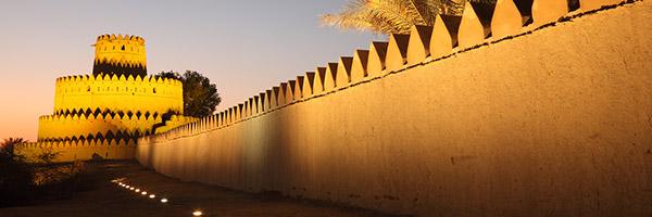 Abu Dhabi castle